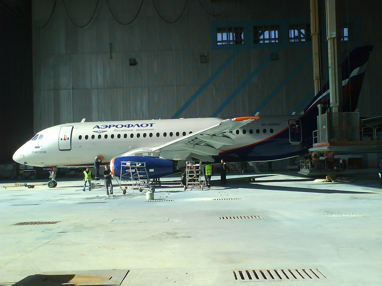 Sukhoi Superjet-100 RA-89062 (95091)