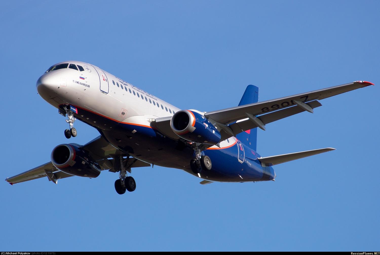 Sukhoi Superjet-100 - П.Хмельницкий