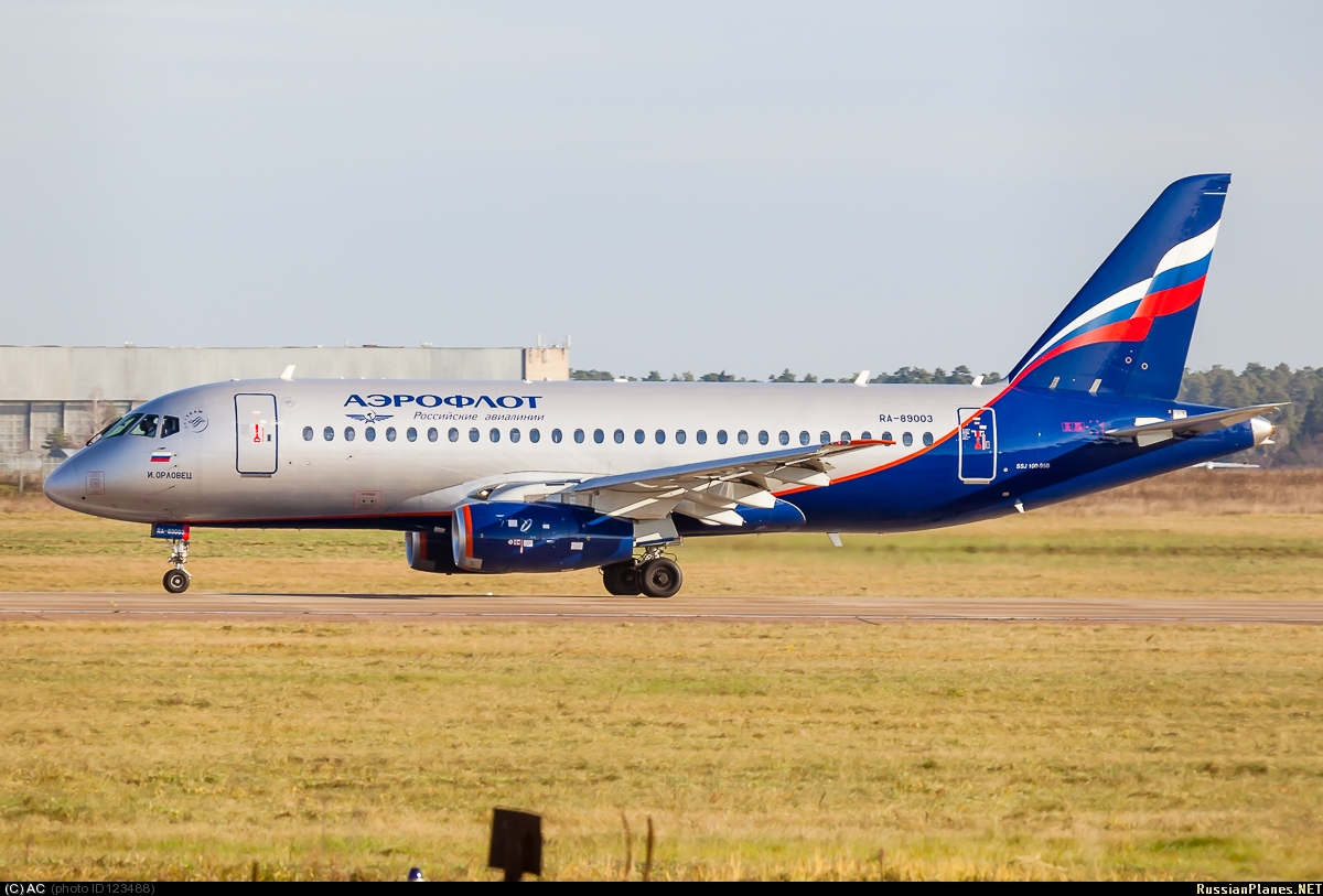 Sukhoi Superjet-100 - 89003 в Жуковском