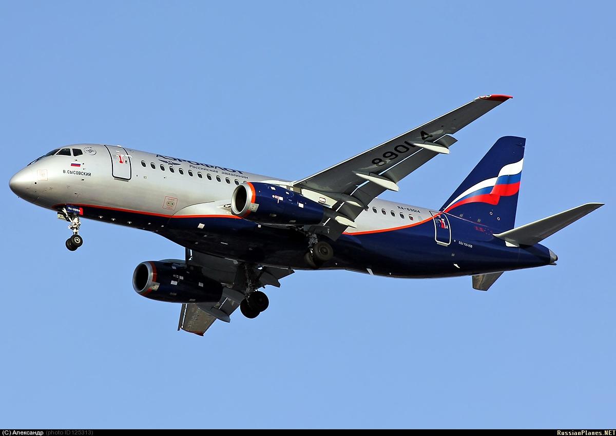 Sukhoi Superjet-100 - RA-89014 в Перми