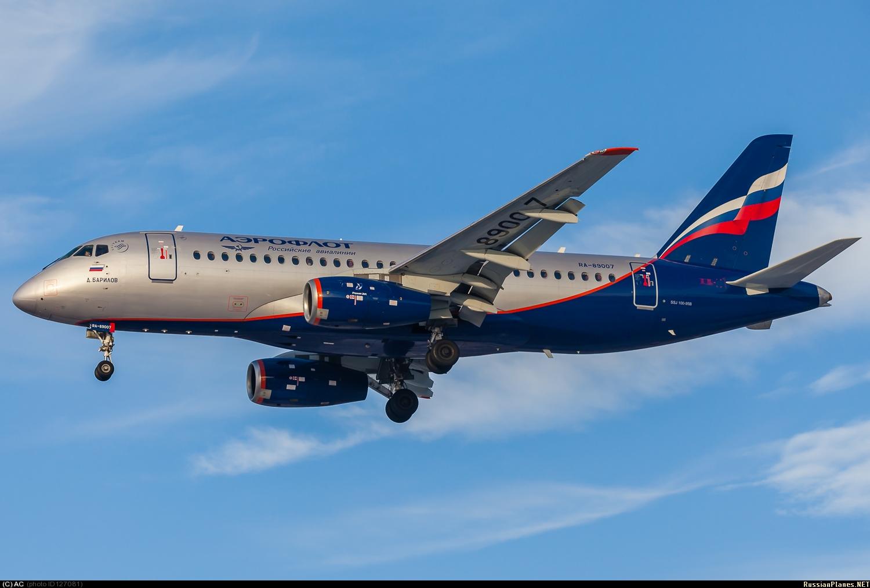 Sukhoi Superjet-100 - RA-89007 (95015)