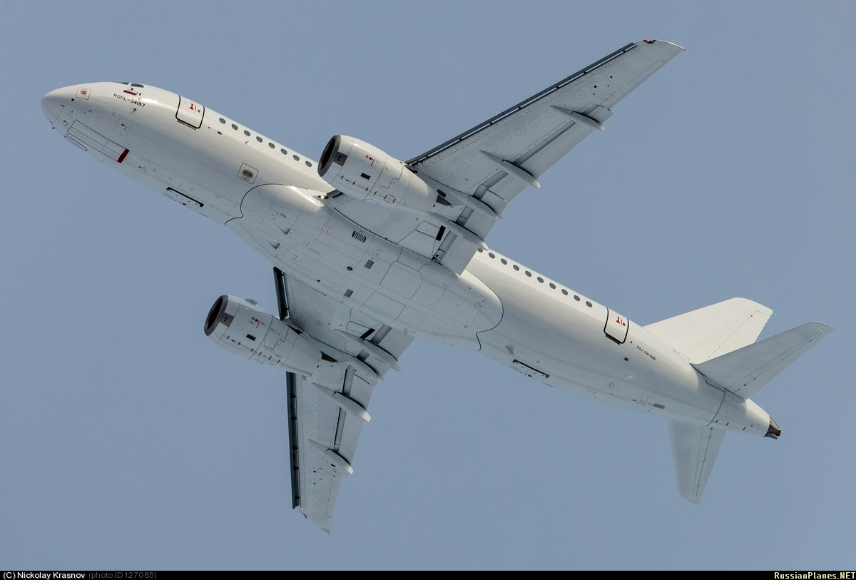 Sukhoi Superjet-100 - 95037