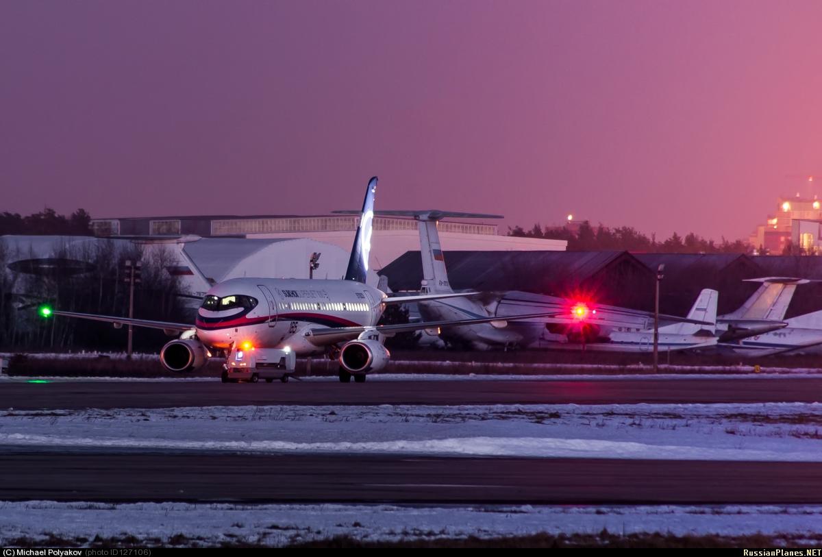 Sukhoi Superjet-100 - 95003