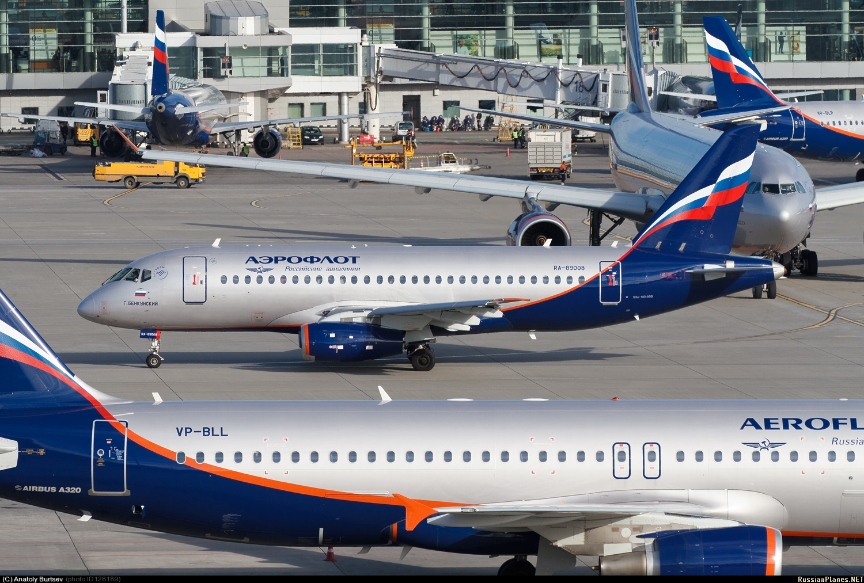 Sukhoi Superjet-100 - RA-89008