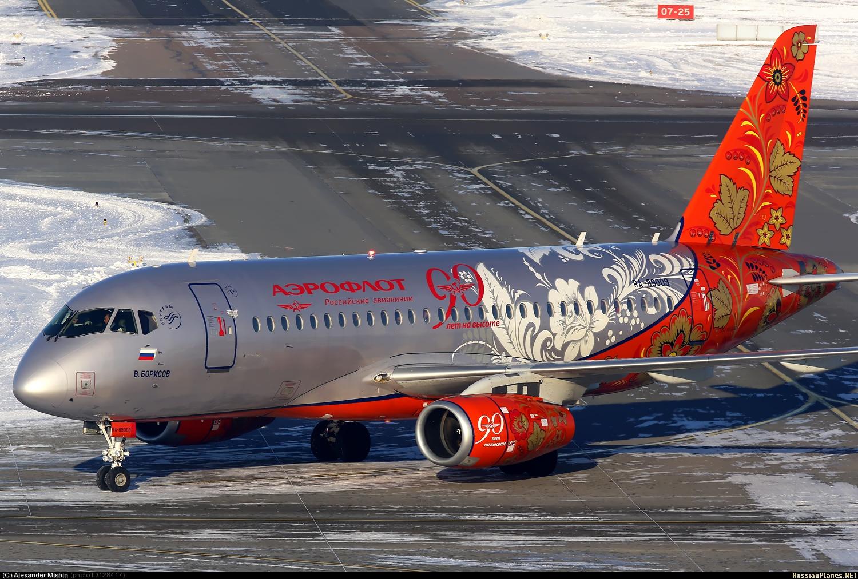 Sukhoi Superjet-100 - RA-89009