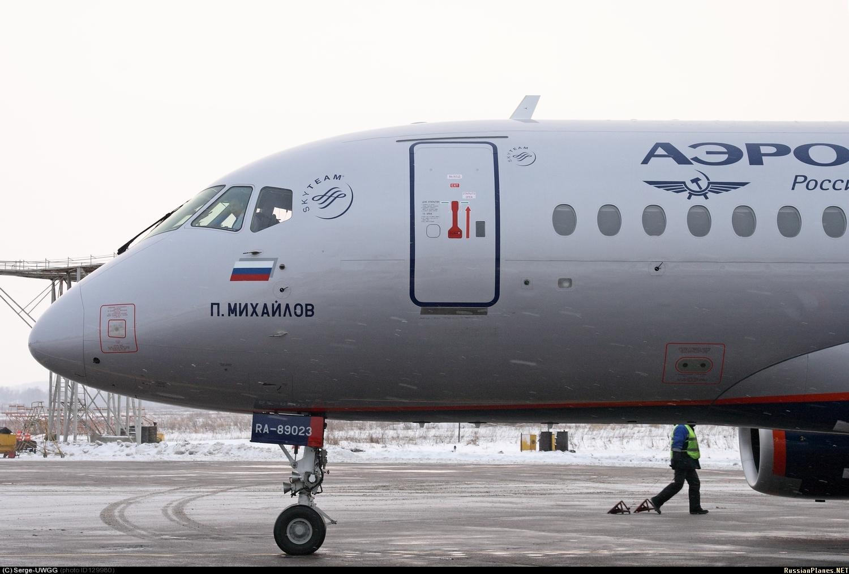Sukhoi Superjet-100 - RA-89023