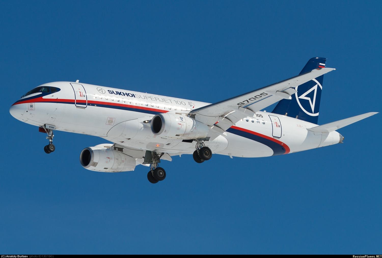 Sukhoi Superjet-100 - 95005