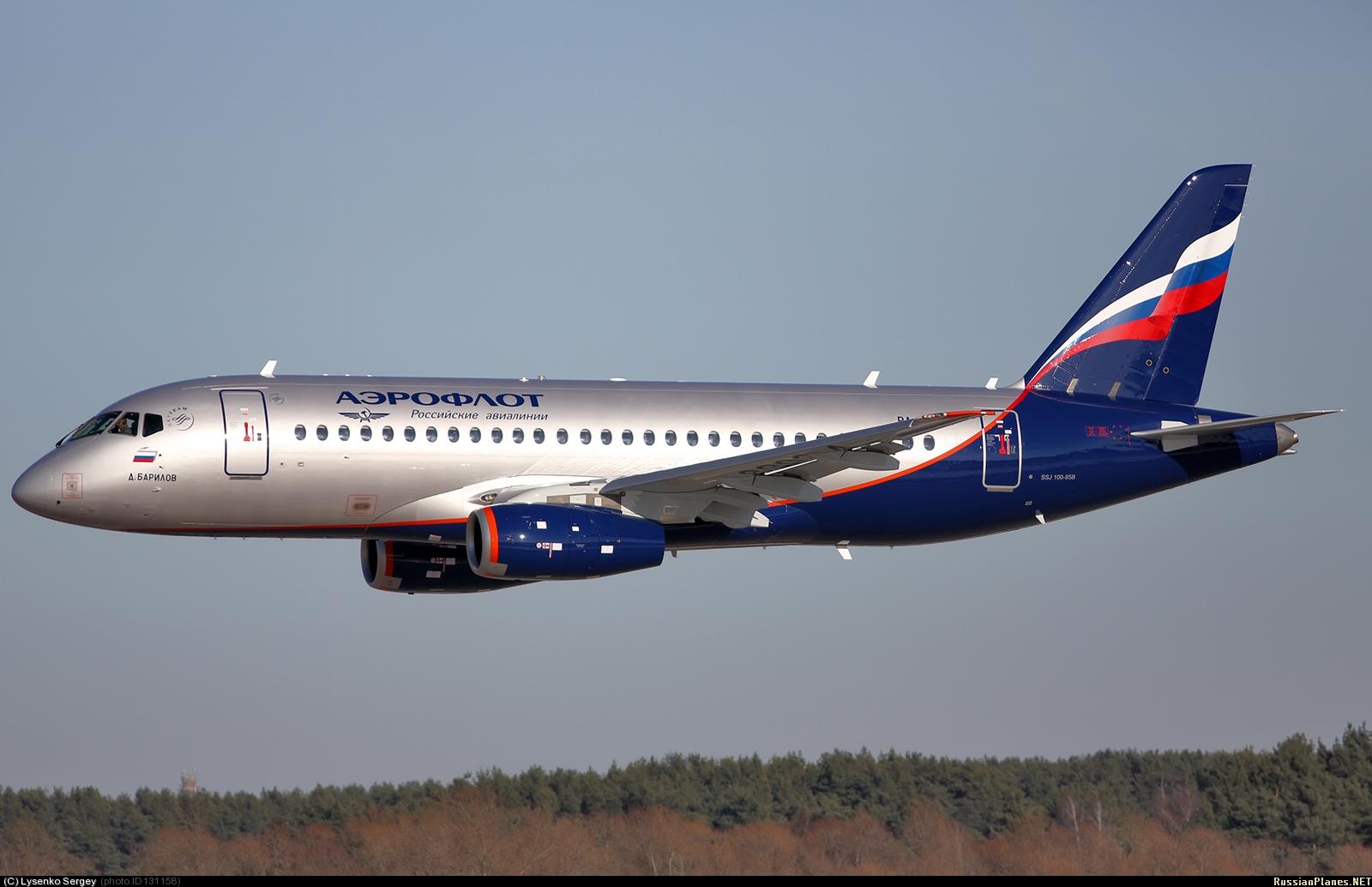 Sukhoi Superjet-100 RA-89024 (95044)