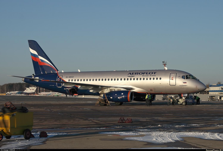 Sukhoi Superjet-100 - RA-89032
