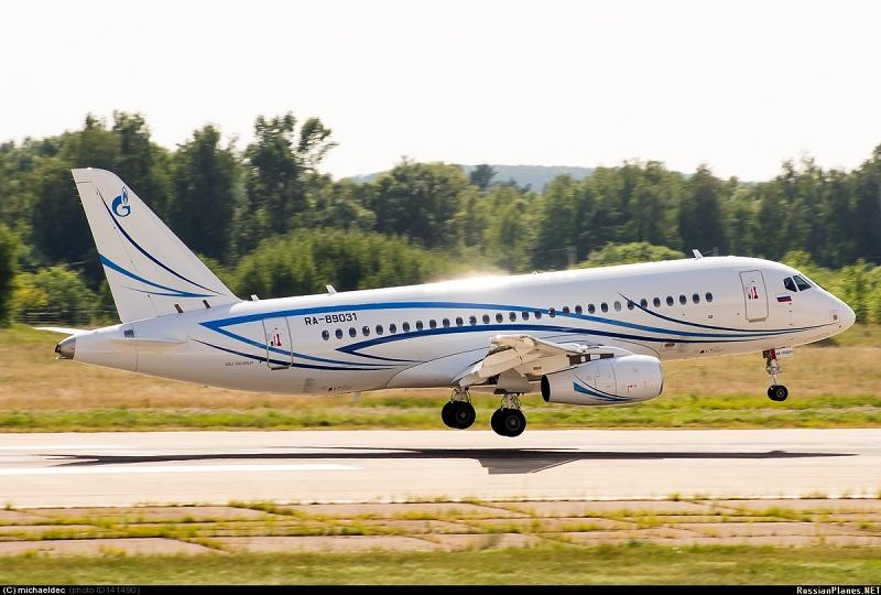 Sukhoi Superjet-100 RA-89031 (95064)
