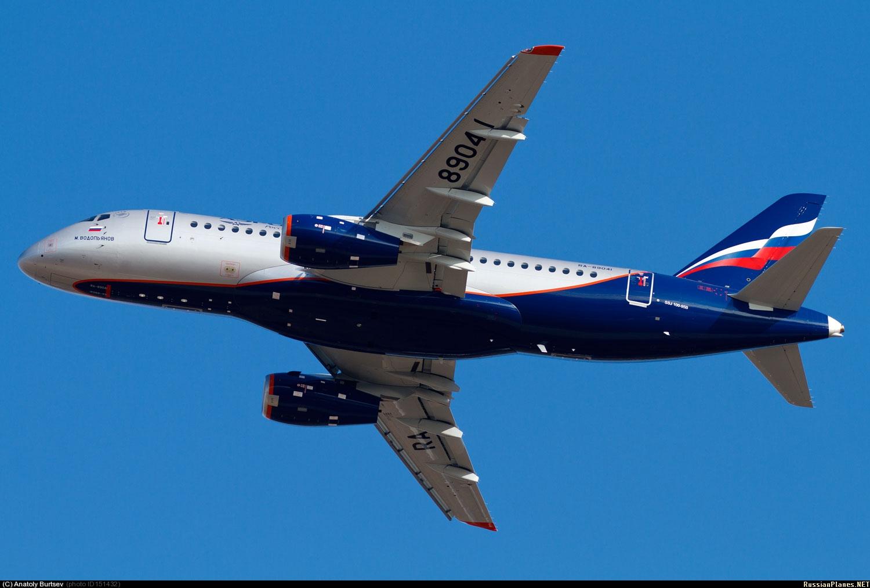 Sukhoi Superjet-100 - 95063