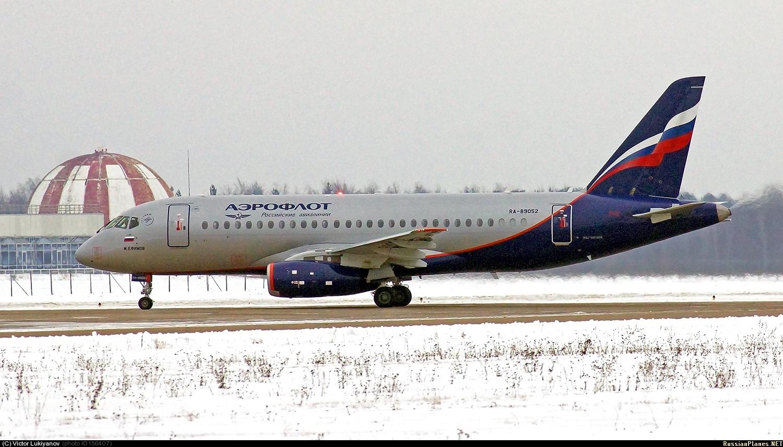 Sukhoi Superjet-100 RA-89052 (95088)