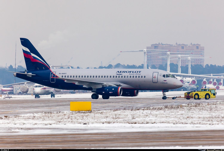 Sukhoi Superjet-100 RA-89057 (95097)