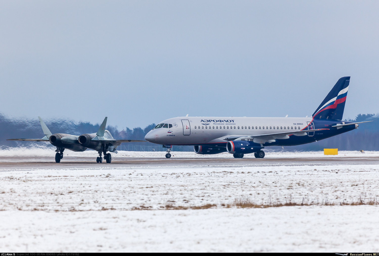 Sukhoi Superjet-100 RA-89063 (95099)