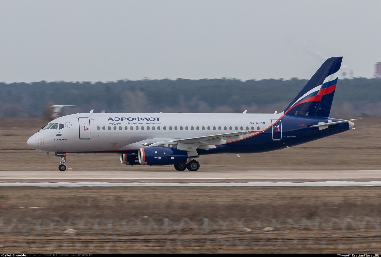Sukhoi Superjet-100 RA-89059 (95100)