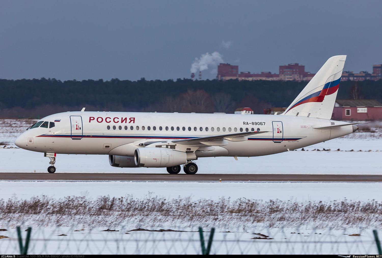 Sukhoi Superjet-100 RA-89067 (95069)