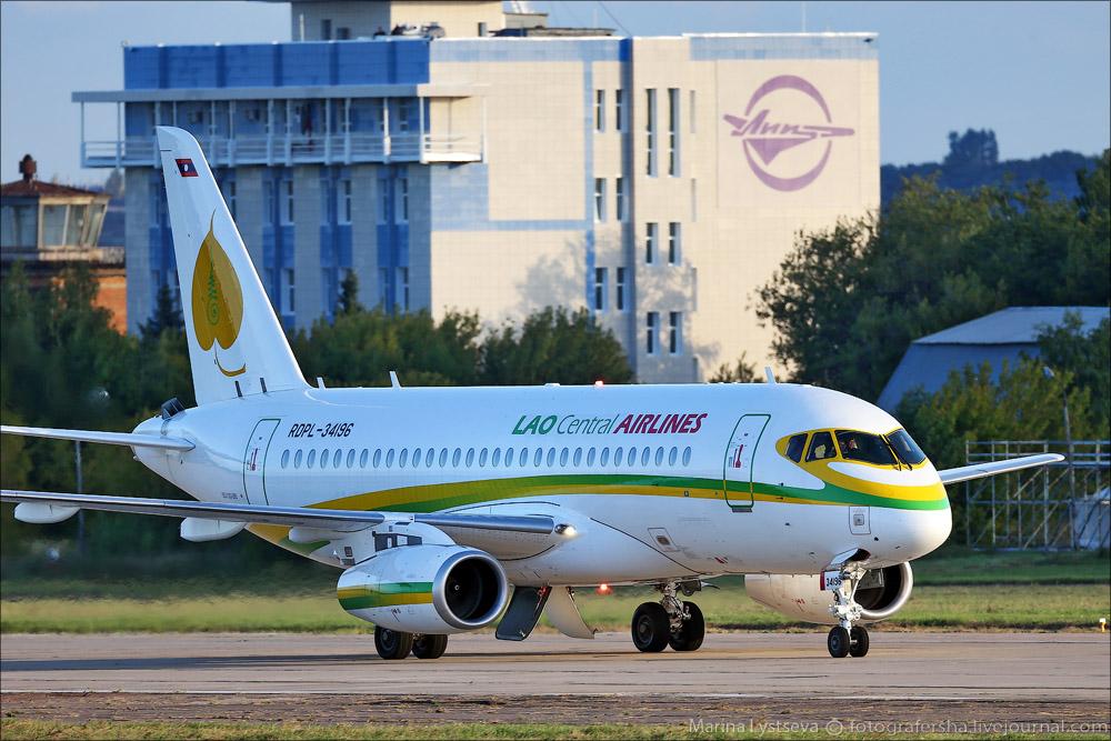 Sukhoi Superjet-100 - RDPL-34196 перед МАКС-ом