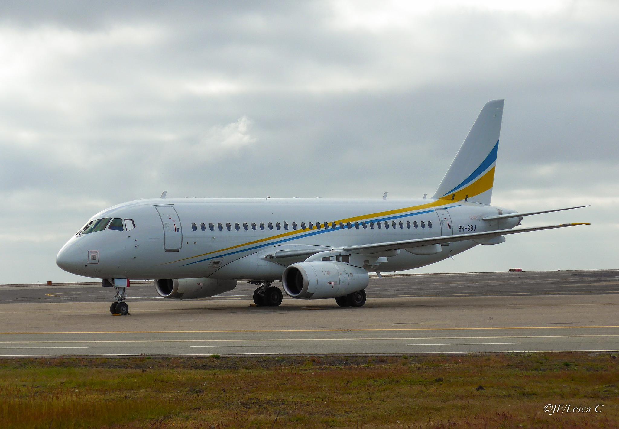 Sukhoi Superjet-100 - 9H-SBJ