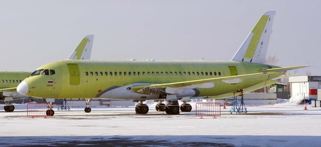 Sukhoi Superjet-100 RA-89050 (95080)