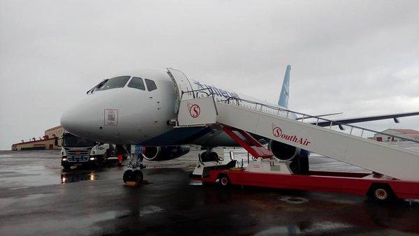 Sukhoi Superjet-100 XA-JBA (95085)
