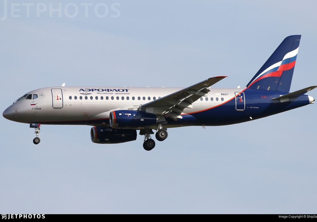 Sukhoi Superjet-100 RA-89127 (95190)