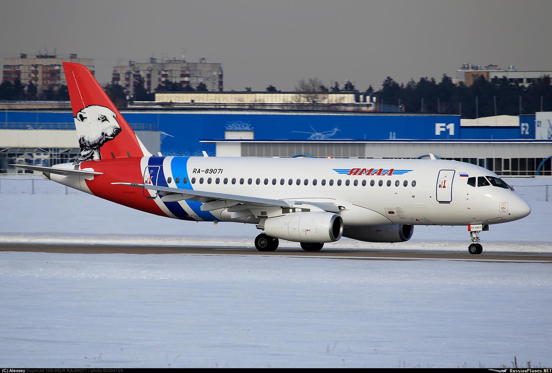 Sukhoi Superjet-100 RA-89071 (95114)