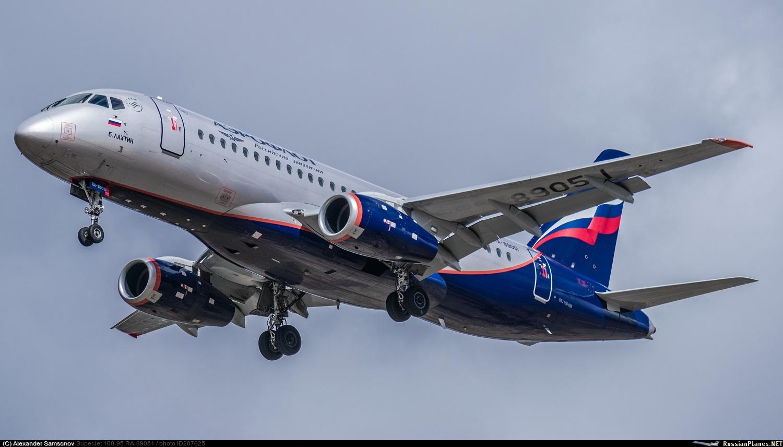 Sukhoi Superjet-100 RA-89051 (95089)
