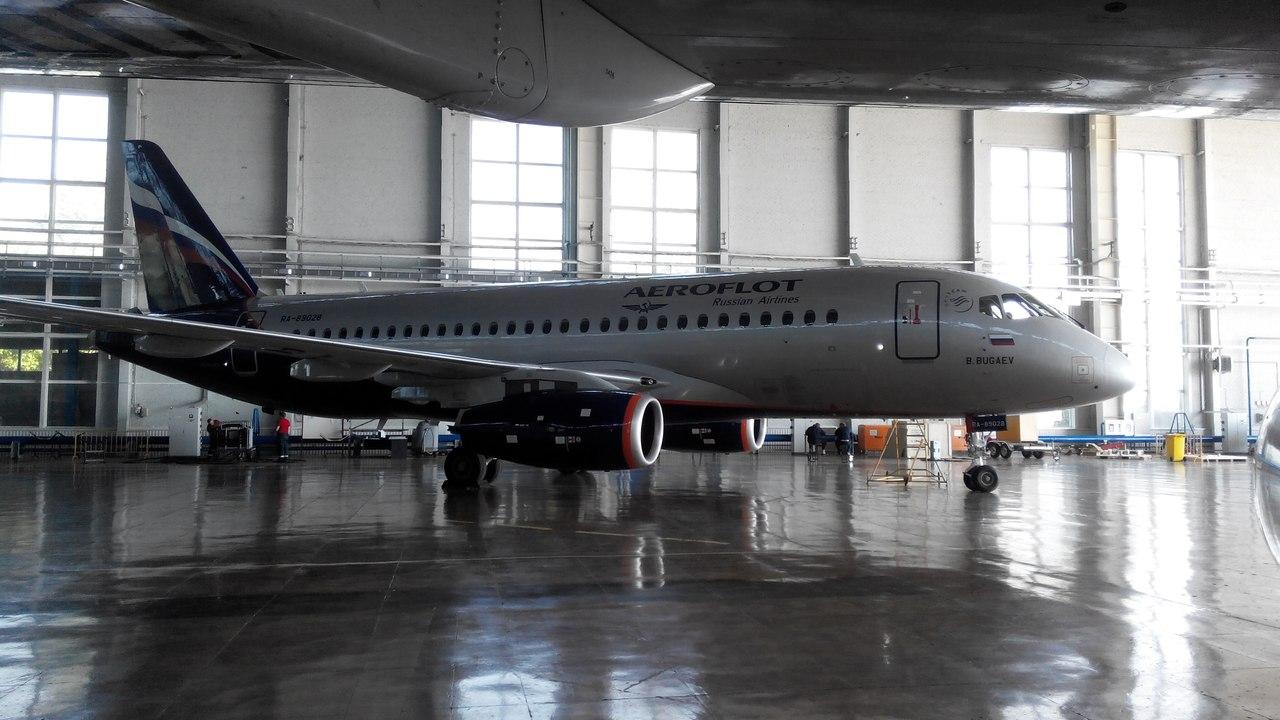 Sukhoi Superjet-100 RA-89028 (95059)
