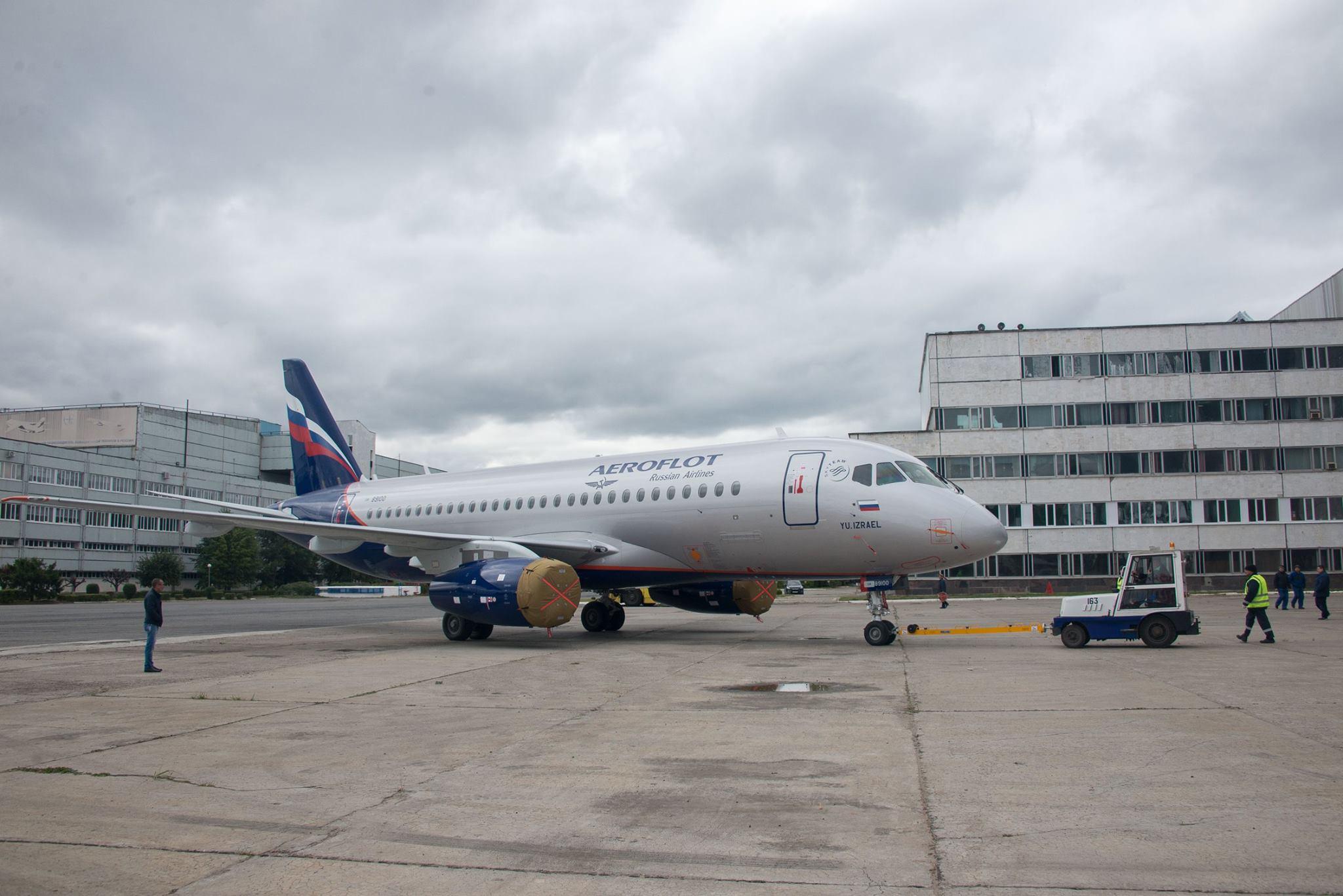Sukhoi Superjet-100 RA-89100 (95138)