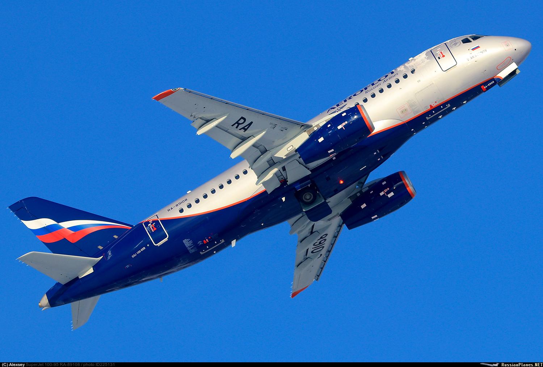 Sukhoi Superjet-100 RA-89108 (95148)