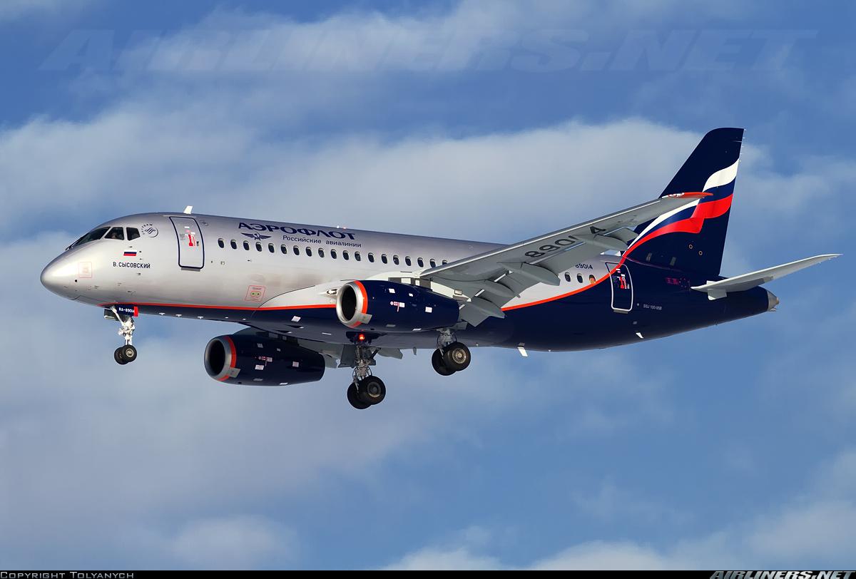 Sukhoi Superjet-100 RA-89014 (95025)