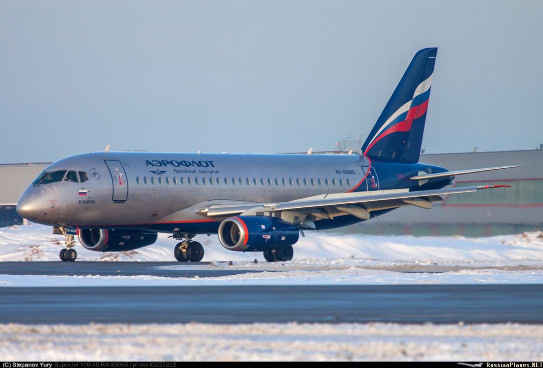 Sukhoi Superjet-100 RA-89065 (95107)