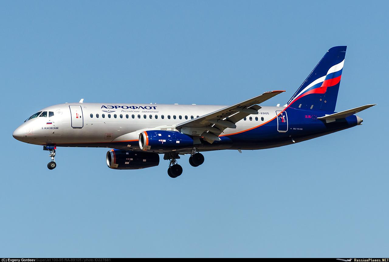 Sukhoi Superjet-100 RA-89105 (95145)