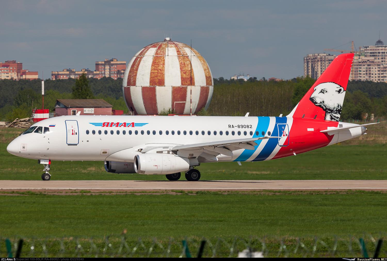 Sukhoi Superjet-100 RA-89082 (95134)