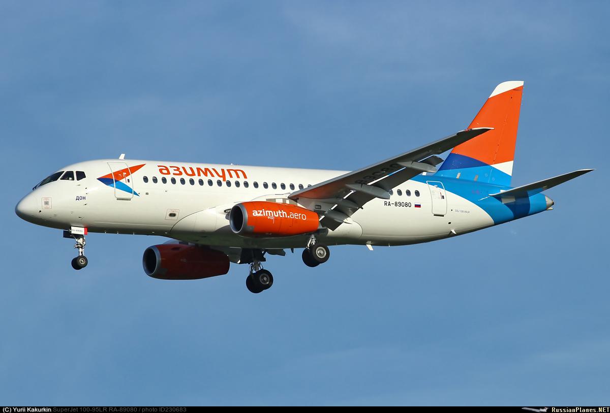 Sukhoi Superjet-100 RA-89080 (95129)