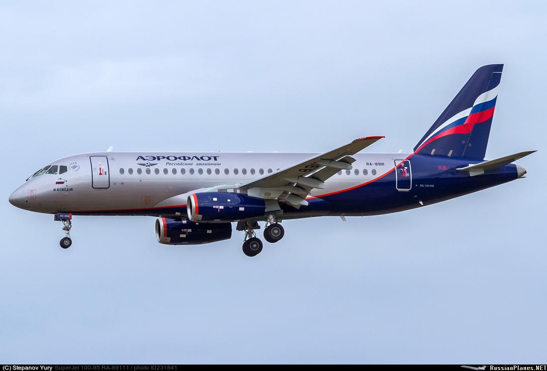 Sukhoi Superjet-100 RA-89111 (95156)