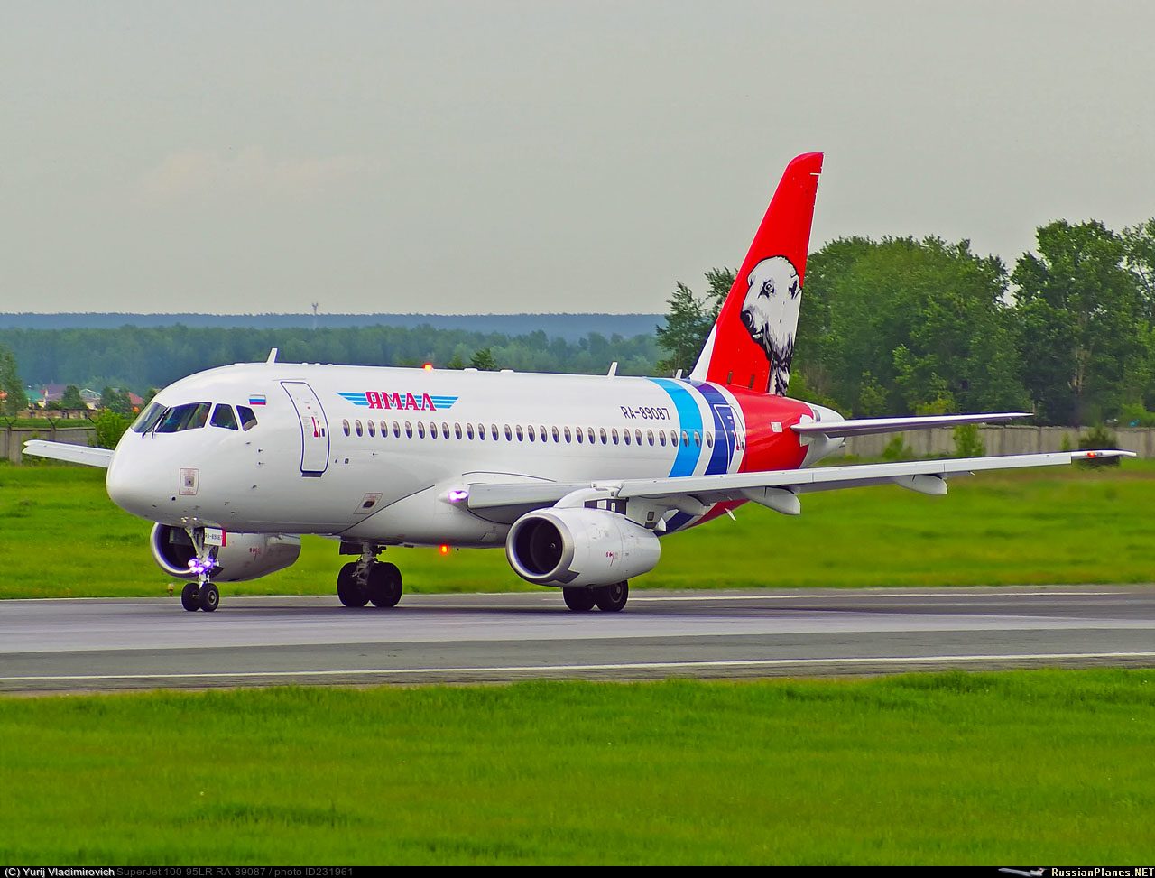 Sukhoi Superjet-100 RA-89087 (95127)