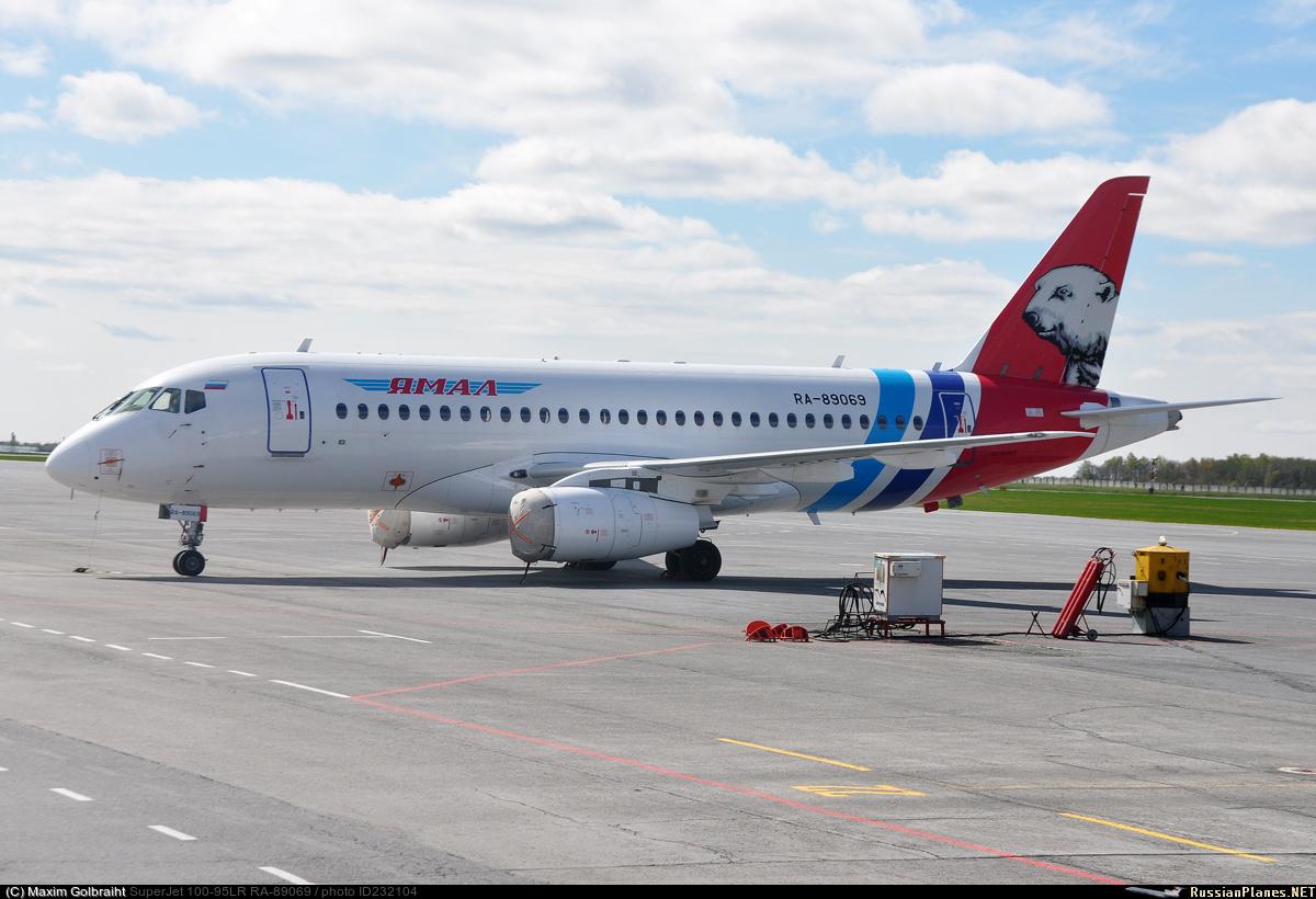 Sukhoi Superjet-100 RA-89069 (95112)