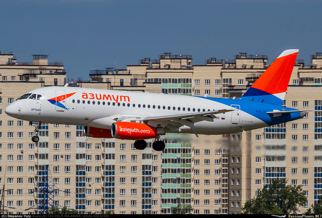 Sukhoi Superjet-100 RA-89095 (95155)