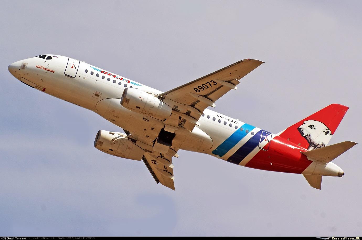 Sukhoi Superjet-100 RA-89073 (95116)
