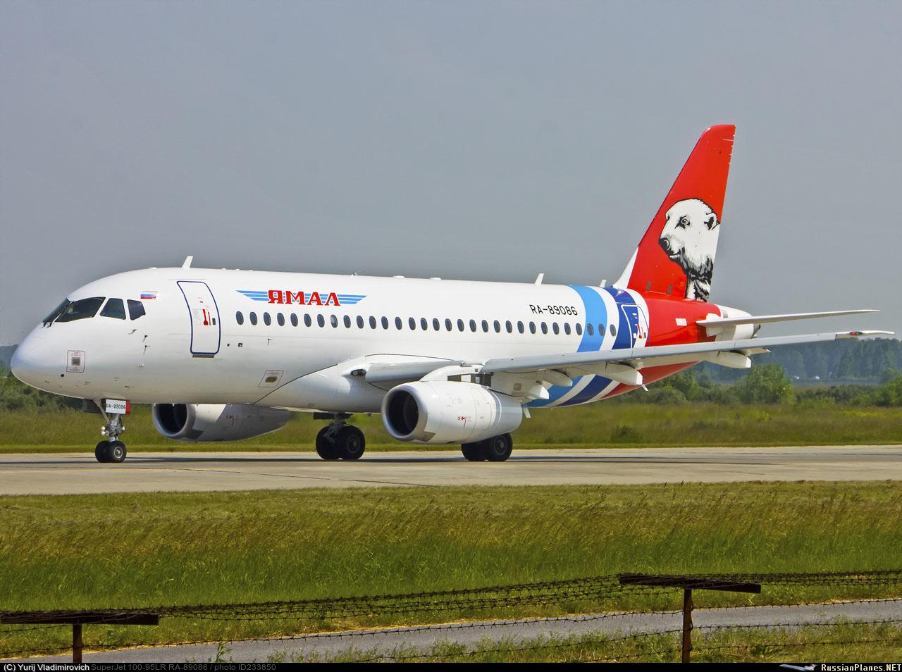 Sukhoi Superjet-100 RA-89086 (95125)