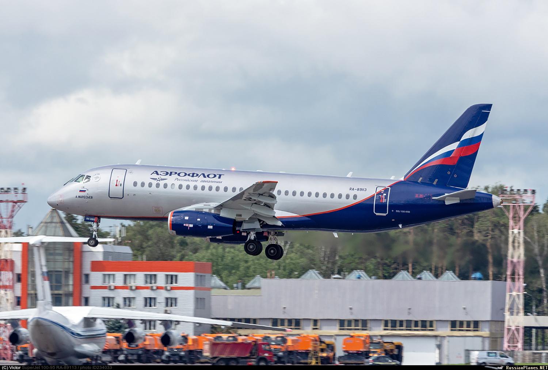 Sukhoi Superjet-100 RA-89113 (95160)