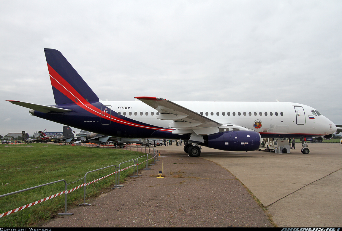 Sukhoi Superjet-100 - VIP на МАКСе