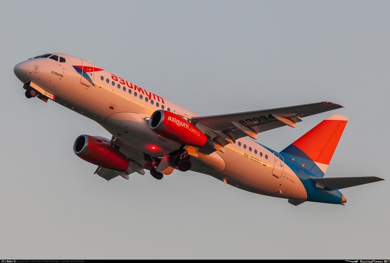 Sukhoi Superjet-100 RA-89094 (95153)