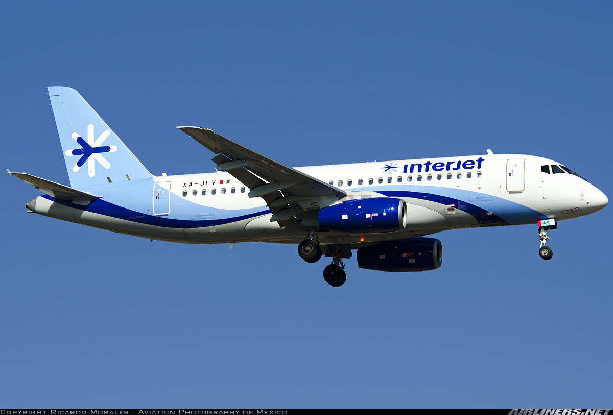 Sukhoi Superjet-100 - Mexico City (- Licenciado Benito Juarez International)