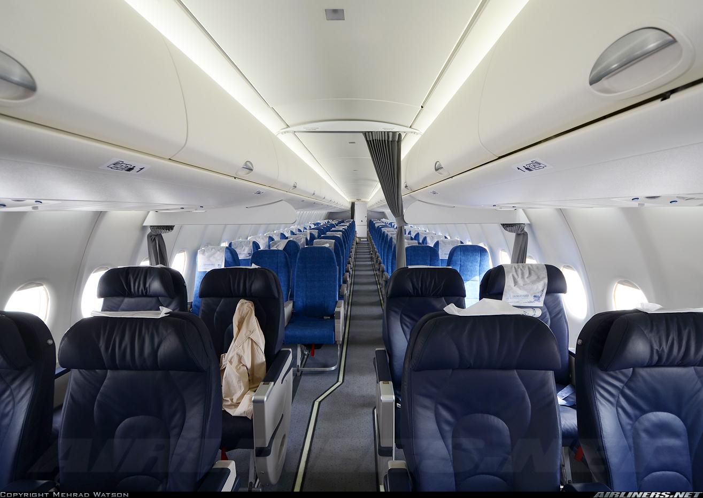 Sukhoi Superjet-100 - RA-89021 внутри