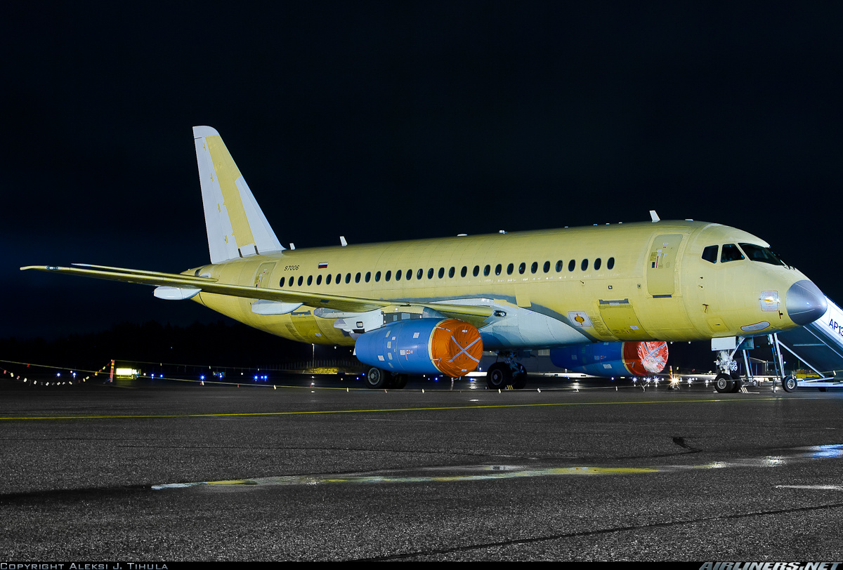 Sukhoi Superjet-100 - 97006 (sn 95032)