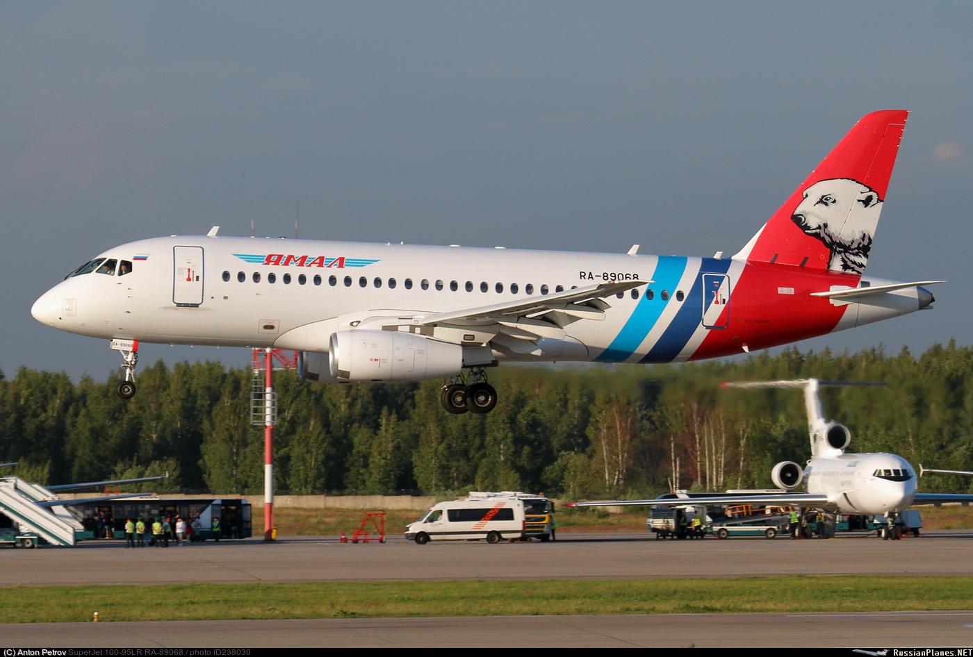 Sukhoi Superjet-100 RA-89068 (95109)