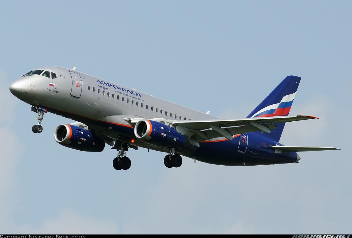 Sukhoi Superjet-100 - RA-89006