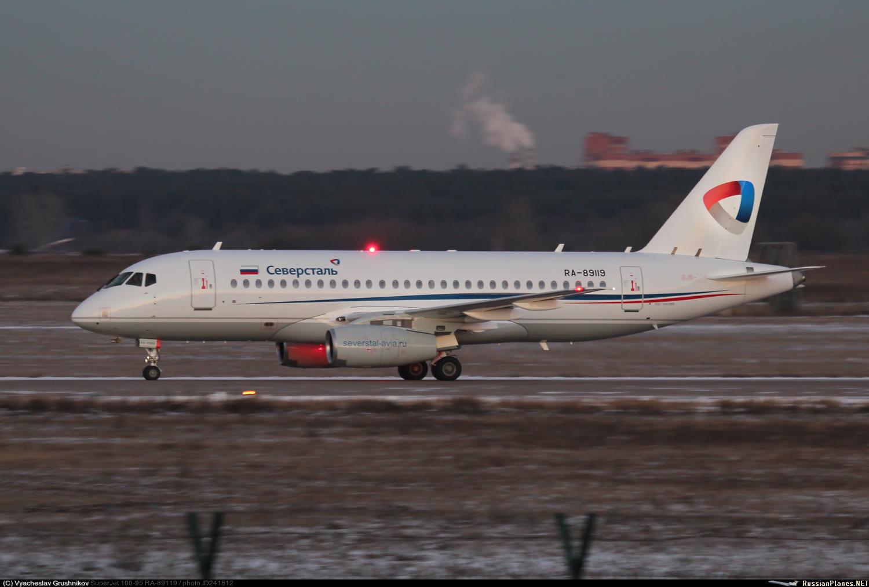 Sukhoi Superjet-100 RA-89119 (95154)